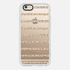 GOLD STRIPES transparent case for Samsung Galaxy S4 - Classic Snap Case