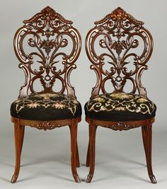 2 Meeks Side Chairs : Lot 454