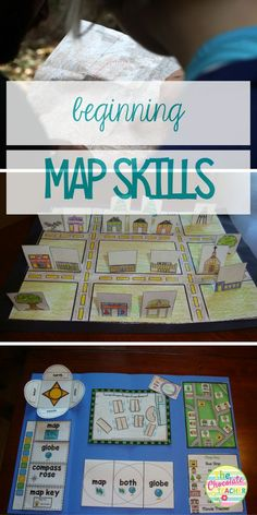 Are you looking for a fun unit to teach mapping skills? This is an engaging unit for your first and second grade students.There are plenty of hands on activities, including a lap book, 3D map, and worksheets.