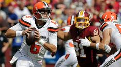 Photos: Browns vs Redskins - 1st Half - QB Cody Kessler looks to pass.
