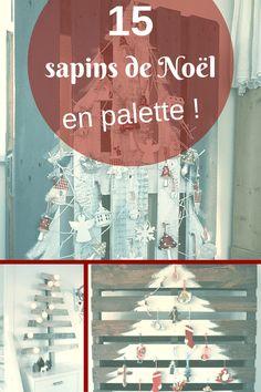 15 Sapins de Noël en Palette !  Voir Diaporama >> http://www.homelisty.com/15-sapins-de-noel-originaux-en-palette-photos/