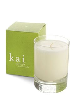 Light Up! 15 Luxe Scented Candles To Bring Summer Inside #Refinery29. Kai Skylight Candle, $24, available at Rob Robinson.