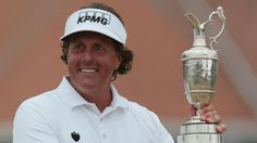 The Open Champion - Phil Mickelson