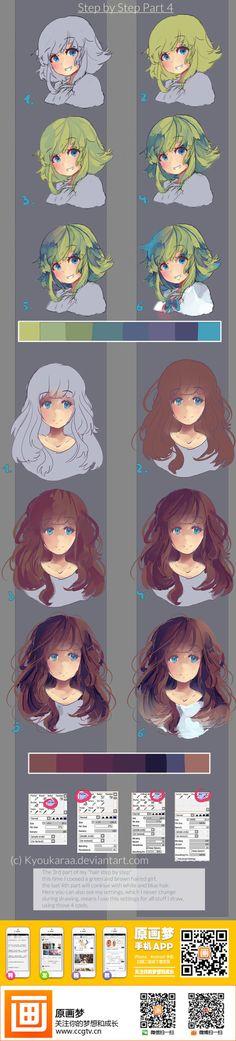 Anime hair tutorial more: https://www.facebook.com/lapukacom
