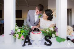 Cake Cutting Photos.   Bommer Canyon Wedding, Photography by Clove and Kin