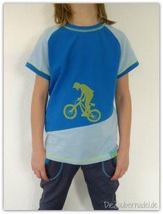 DieZaubernadel.de: Bikeshirt für Junior