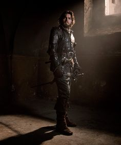 "Tom Burke, star of BBC America's ""The Musketeers"""