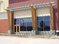 modern commercial storefront | ... Storefront Aluminum and Doors | Fire-Rated Glass Systems | Title 24