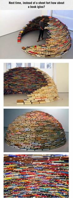 Funny pictures about Book Igloo. Oh, and cool pics about Book Igloo. Also, Book Igloo photos.