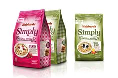 Before & After: Hubbards Simply Muesli — The Dieline - Branding & Packaging