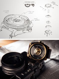 TACS | Automatic Vintage Lens- Watch inspired by photography by Yuki Machino — Kickstarter