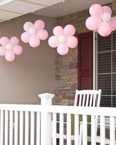 Si está próximo el bautizo de tu bebé, de damos estas originales ideas de decoración con globos.