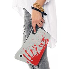 Cleaver Clutch Bag by Kreepsville 666.                               I think I need this