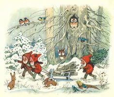 Fritz Baumgarten / Weihnachtsfest im Wichtelland / Bild 03 by micky the pixel, via Flickr