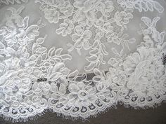FRENCH CORDED LACE