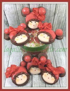 Galletas de caritas muñecas vintages.