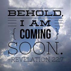 Jesus is coming again!!