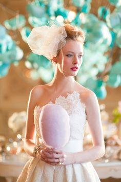Ideen für eine Hochzeit mit Zuckerwatte | Friedatheres
