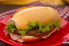 Hambúrguer de Berinjela