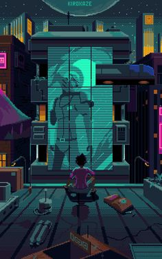 New Pixel Art Wallpaper Cyberpunk Ideas Pixel Art Gif, Cool Pixel Art, Cyberpunk Aesthetic, Cyberpunk City, Nail Bat, Madara Susanoo, Arte 8 Bits, Pixel Art Background, Pixel Art
