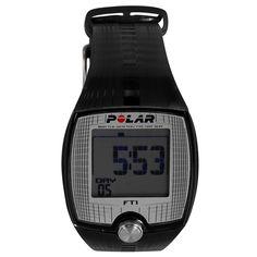 RELOJ POLAR FT1 Disfruta aun más de tus entrenamientos como corredor portando el Reloj Polar Ft1, con el que podrás monitorear tu frecuencia cardiaca, además de mostrar lo realizado en entrenamientos previos. Modelo unisex. Pantalla de fácil lectura. Target Zone manual. Transmisión codificada de frecuencia cardiaca. Marcación de frecuencia cardiaca en ppm. Resistencia al agua. Alarma. Cronómetro. Sensor T31. Tecnología GymLink. Sistema HearthTouch.
