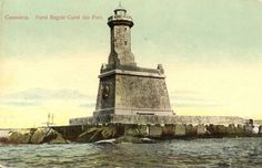Constanta - Farul Regele Carol Turism Romania, Ship Paintings, Semper Fidelis, Black Sea, Vintage Photographs, Lighthouses, Old Pictures, Statue Of Liberty, Cities