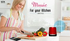 Now enjoy your favorite radio station or playlist as you cook with #STKSMC650 #PortableSpeakers #Bluetooth