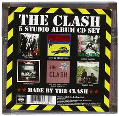 5 Album Studio Set   5 Album Studio Set All 5 of the bands seminal studio albums remastered in their original formatting, with vinyl replica packaging, collected together in a boxset designed by the band. Includes: 1.The Clash - Original UK version 2.Give 'Em Enough Rope  3.London Calling  4.Sandinista! 5.Combat Rock  http://www.musicdownloadsstore.com/5-album-studio-set/