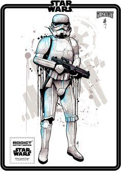 mitchy_bwoy_star_wars_trooper | by Mitchy Bwoy art / design
