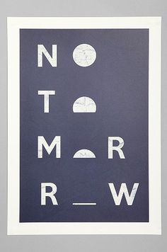 (Misery For Society6 No Tomorrow Art Print)