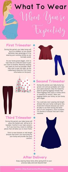 Are you pregnant and hate the thought of buying maternity clothes? There's a way to get through a pregnancy without having to get one. All it takes is creativity with your outfits. Click on the image to learn more.