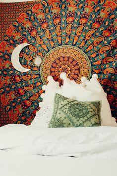 Lady Scorpio ✰ Lady Scorpio101.com Bohemian Bedroom Decor   Gemma Eve Mandala Tapestry