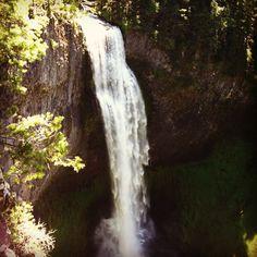 Salt Creek Falls, Lane County