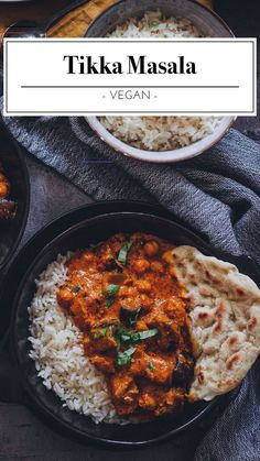 Veganes Tikka Masala - The Unlabeled Chefs - #veganquotes - Unser veganes Tikka Masala bringt ein Stück Indien zu dir nach Hause. Die Mischung der verschiedenen Gewürze sorgt für eine wahre Geschmacksexplosion. Dieses Gericht gehört definitiv zu unseren absoluten Favoriten.... Healthy Breakfast Recipes, Easy Healthy Recipes, Quick Easy Meals, Easy Dinner Recipes, Protein Recipes, Dinner Healthy, Dinner Ideas, Chef Recipes, Vegetarian Recipes