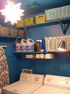 DESIGN SHARE: From Drab to Fab:: Easy Laundry Room Makeover and Latest Style File Segment.