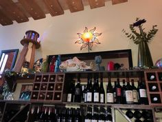 Bar at MacCallum House in Mendocino California Mendocino California, Liquor Cabinet, Bar, House, Home Decor, Decoration Home, Room Decor, House Bar, Haus