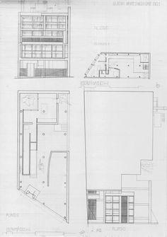 Floor Plan Curutchet House Le Corbusier, Floor Plans, House, Layout, How To Plan, Crutches, Design, Argentina, Architecture