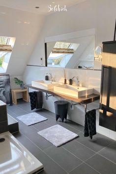 Wc Design, House Design, Interior Design, Home Building Design, Building A House, How To Dress A Bed, Bathroom Design Luxury, Living Styles, Modern Room