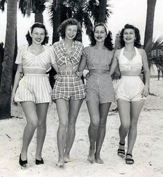 Summertime the 1940's Way