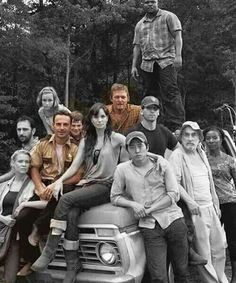 This is so sad like there all dead. Well there's still Rick, Carl, and Daryl. ;(