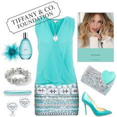 Tiffany Blue Outfit :) longer dress for me Azul Tiffany, Tiffany Blue, Aqua, Turquoise, Fat Fashion, Fashion Outfits, Womens Fashion, Casual Outfits, Cute Outfits