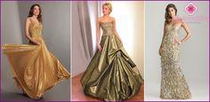 Zlatý svadobné šaty 2016 Populárne modely s fotografiami