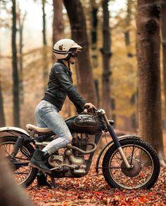 Motorcycle Women - asphalt_children