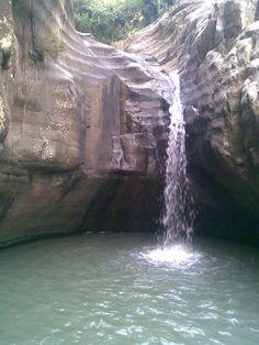 Tumpuk waterfall, Ponorogo, East Java, Indonesia