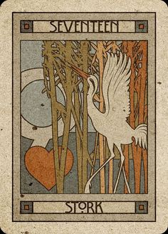 17 Stork - Chelsea-Lenormand Blue by Neil Lovell