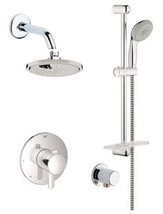 grohe control valvesrain shower headsshower