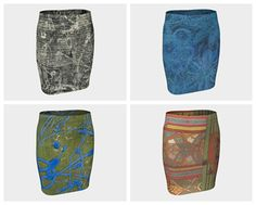Fitted skirts ready for holiday giving at paperwerks.etsy.com. Click the Visit button and check them out! #etsy
