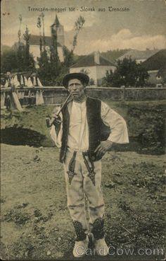 Slovak aus Trencsén Slovakia- my heritage Heart Of Europe, Dark Eyes, My Heritage, Eastern Europe, Czech Republic, Traditional Outfits, Folk Art, Folk Costume, Romania