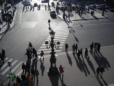 Photograph of Paris: shadows and lines