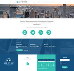 Crosswinds Holdings Inc. - Corporate Redesign, Responsive